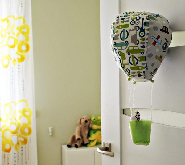 Latający Balon – dekoracja do pokoiku dziecka
