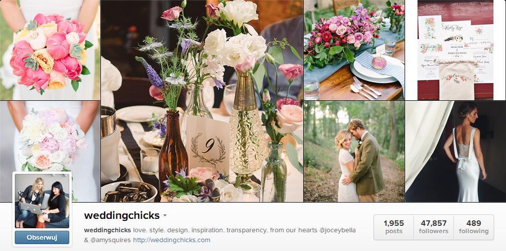 Instagram Top 6 – najciekawsze profile ślubne
