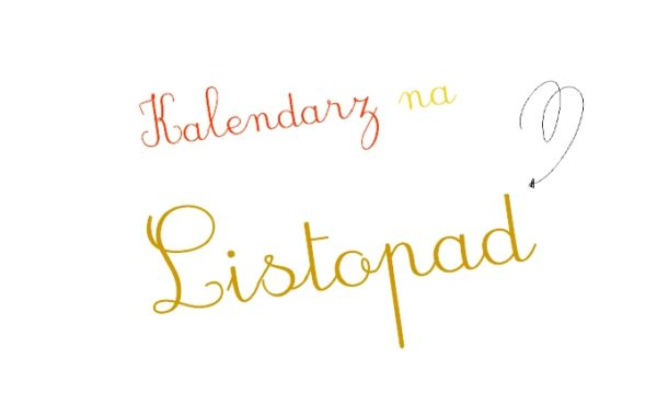 Kalendarz na Listopad 2014