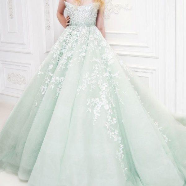 Miętowy ślub – zimowe inspiracje weselne