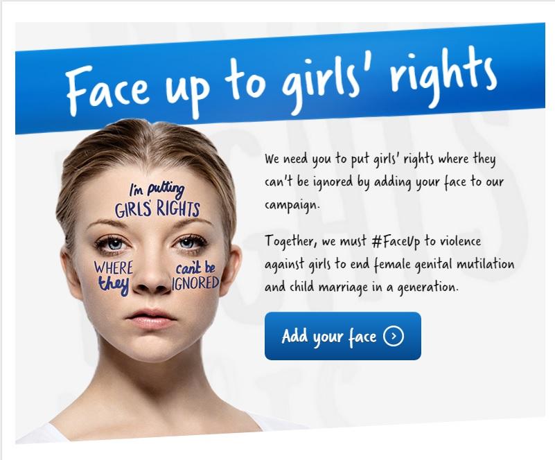 Kampania #FaceUp w walce o prawa dziewcząt na całym świecie