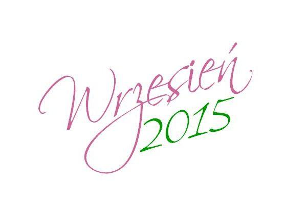 Kalendarz na Wrzesień 2015