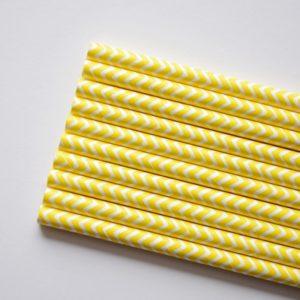słomki żółte