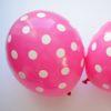 balony różowe