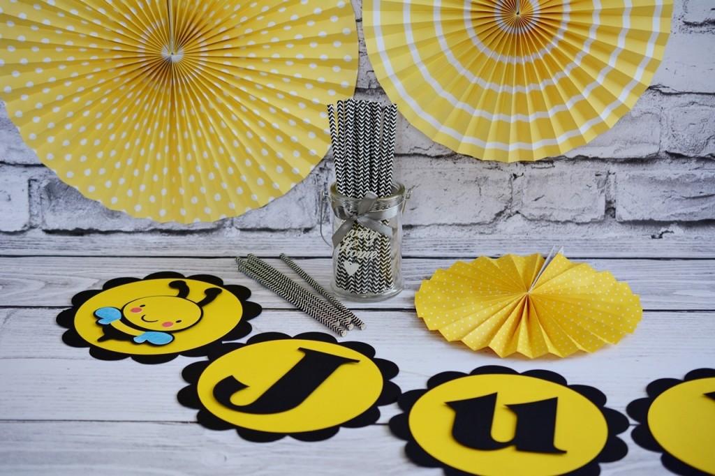 pszczółka maja dekoracje urodzinowe