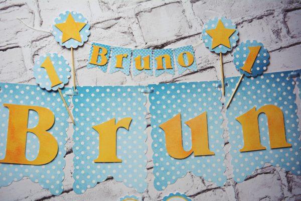 Dekoracje na urodziny – Bruno