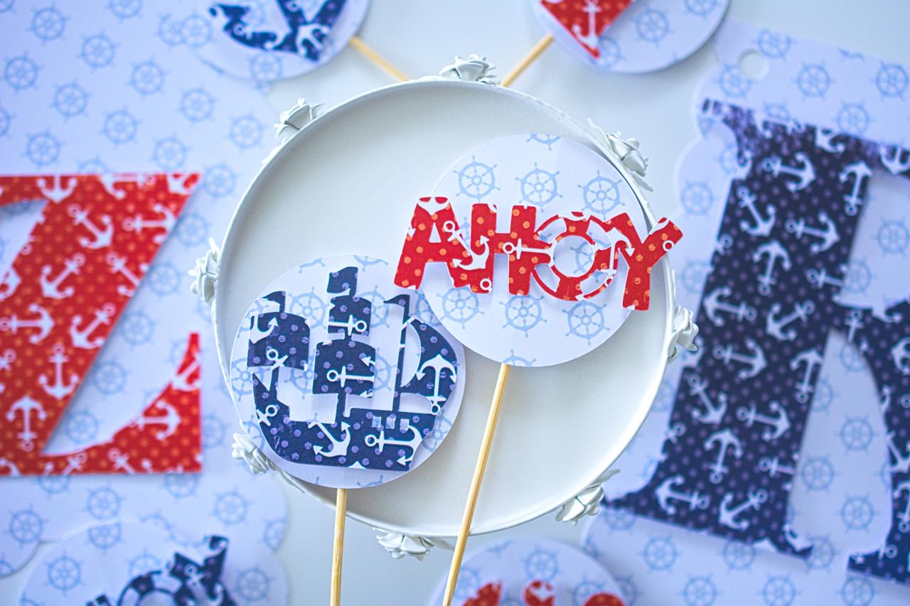 Dekoracje urodzinowe Marynarz