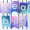 """Girlanda """"Dream Big"""""""