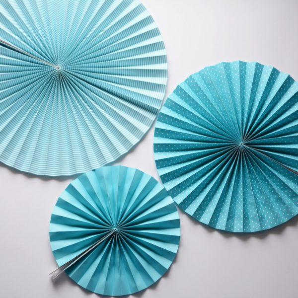 rozety niebieskie