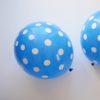 balony niebieskie