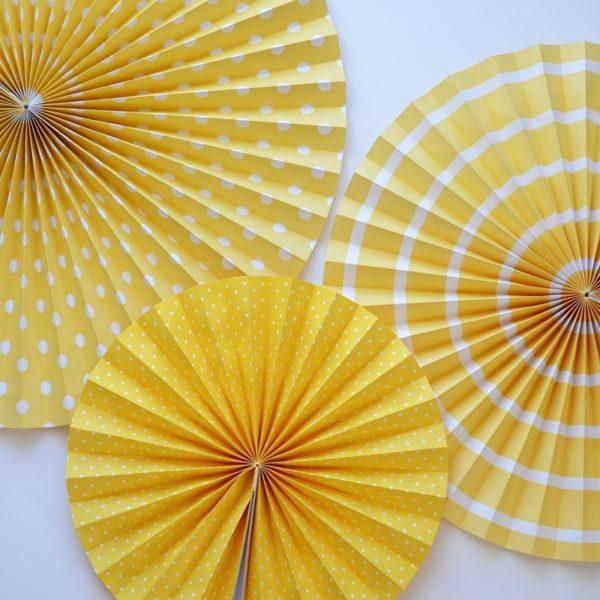 rozety żółte
