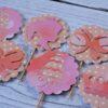 dekoracje do muffin mała księżniczka