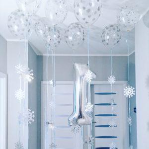 Urodziny zimą - w stylu Winter Wonderland