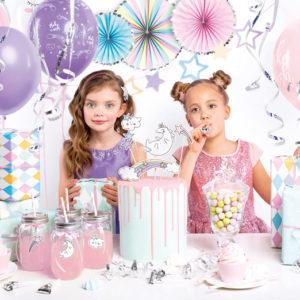 Box urodzinowy - dekoracje Jednorożec