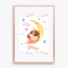 Plakat Jednorożec - personalizacja imię dziecka