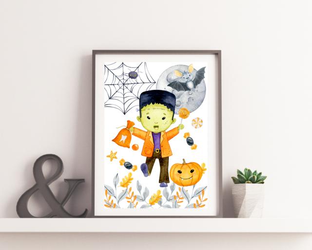 dekoracje na halloween dla dzieci