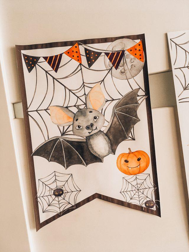 halloween dekoracje do druku